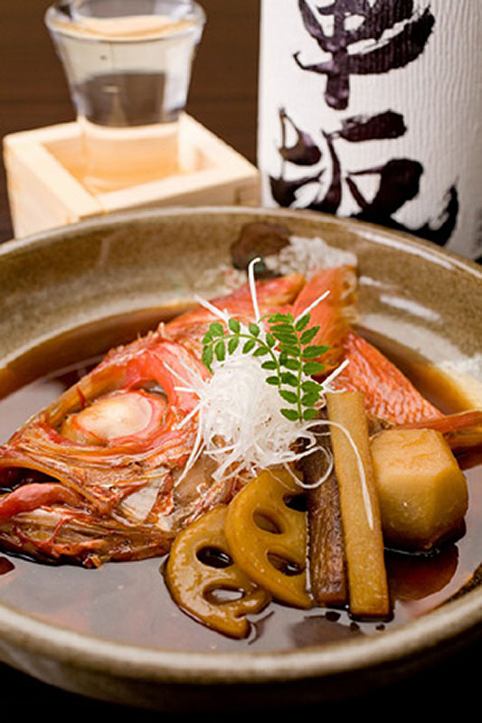 厳選旬魚の煮付け 1280円~